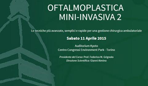 Oftalmoplastica mini-invasiva